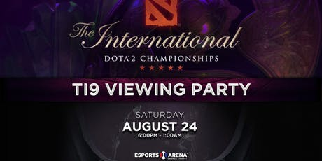 International DOTA 2 Championships Viewing Party tickets