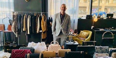 Dallas! Sip and Shop Vintage Luxury with Bravo Star Christos Garkinos. tickets