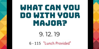 What Can You Do with Your Major?