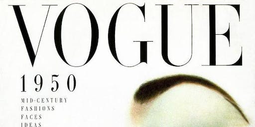 Vintage Vogue .... a night of music from today with a blast form the past