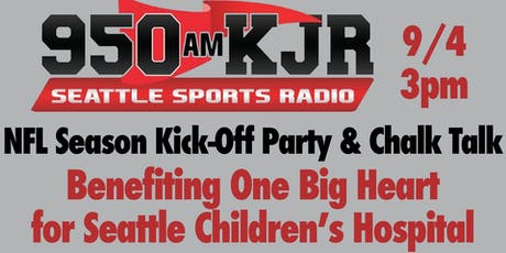 Sports Radio 950 KJR's NFL Season Kick-Off Party and Chalk Talk tickets