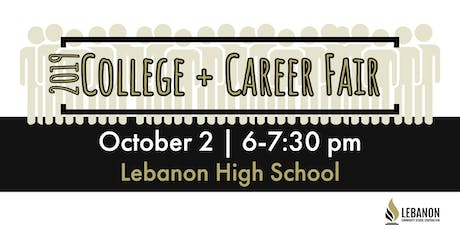 Exhibitor Registration, 2019 College & Career Fair tickets