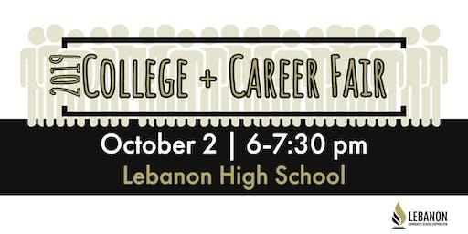 Exhibitor Registration, 2019 College & Career Fair