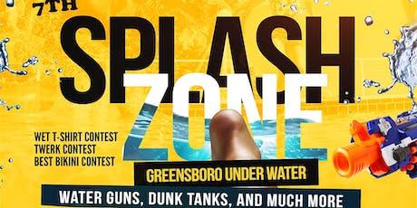 SPLASH ZONE : GREENSBORO UNDER WATER tickets