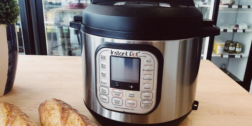 Instant Pot Cooking Class for Beginners