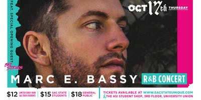 Marc E. Bassy w/ Special guest  Bri Steves