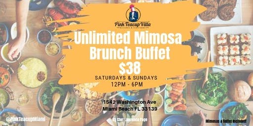 Black Gurl Brunch from Hustle & Soul on WeTv Unlimited Mimosa Brunch Buffet $38