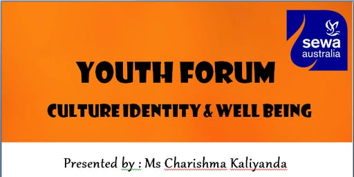 Youth Forum - Culture Identity and Well being