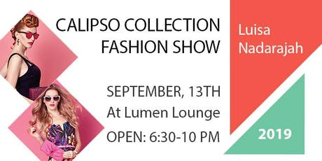 Calipso Collection Fashion Show and Launch Party tickets