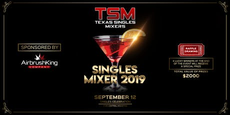Texas Singles Mixer 2019 Packages tickets