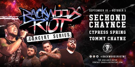 Backwoods Riot Concert Series in Houston, TX ALL AGES! tickets