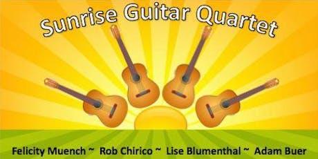 Dan and Diane's Concerts presents the Sunrise Guitar Quartet tickets