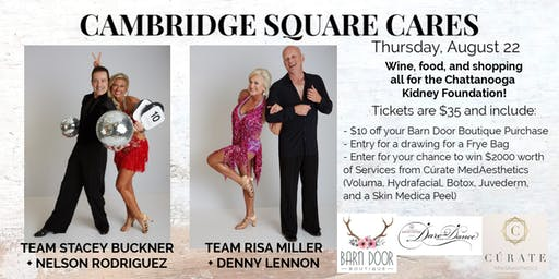 CAMBRIDGE SQUARE CARES Benefiting Dare to Dance Risa + Stacey