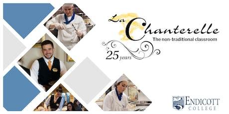 25th Anniversary Celebration of La Chanterelle at Endicott College tickets