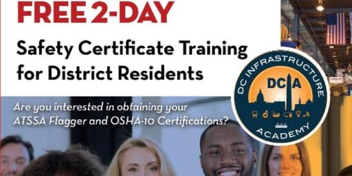2 Day Safety Training Course /Free 2 DC Resident