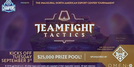 Team Fight Tactics $25K Tournament tickets