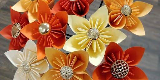 Origami Paper Flower Workshop
