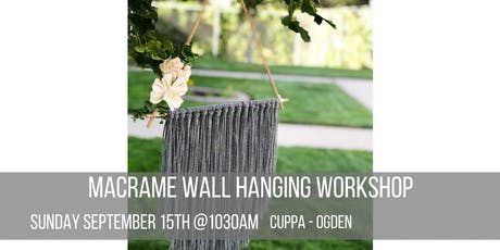 Fall Wall Hanging Workshop  tickets