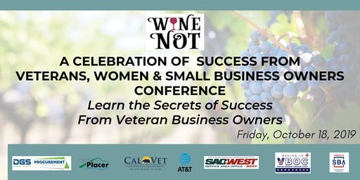 """""""Wine Not"""" Indulge with Leading Industry Experts at the Small Business and DVBE Summit"""