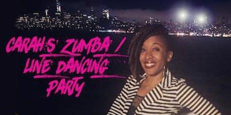 @CardioWithCarah's Zumba + Line Dancing Master Class tickets