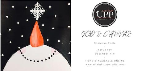 KID'S CANVAS | Snowman Smile tickets