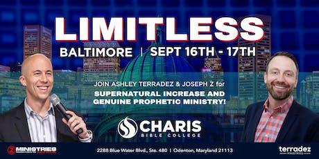 Limitless Baltimore tickets