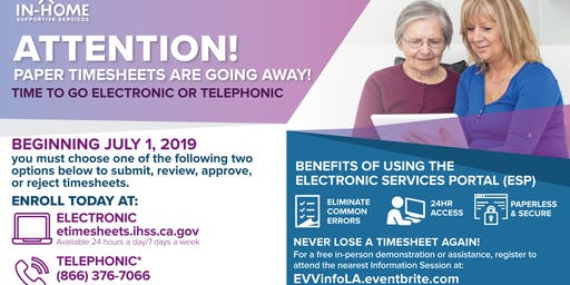 Electronic Visit Verification (EVV) Information Session