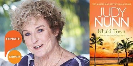 An evening with Judy Nunn tickets