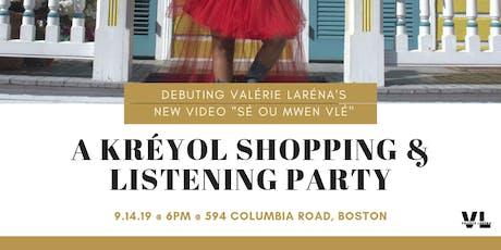 A Kreyol Shopping & Listening Party tickets