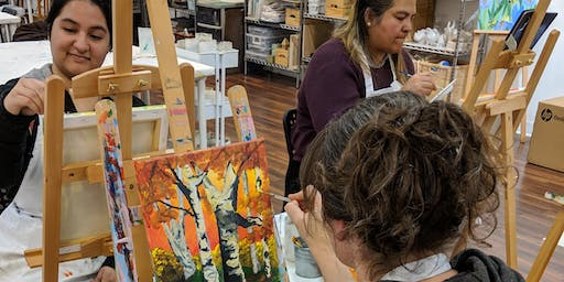 Paint & Sip Saturday October 19th or 26th