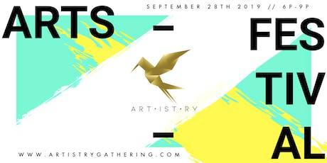 Artistry Arts Festival tickets