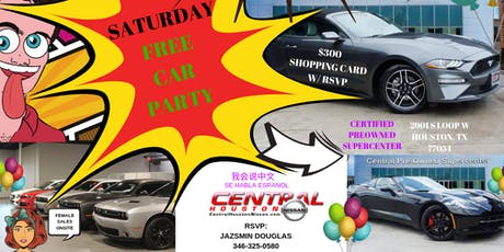 FREE CAR PARTY tickets