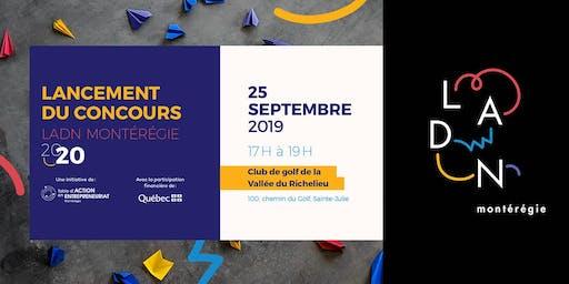 Lancement du Concours «LADN Montérégie» 2020 et PITCH FIRE!