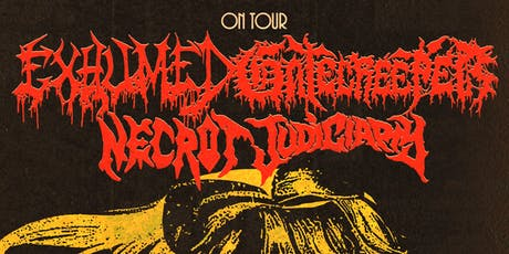Gatecreeper, Exhumed, Necrot, and Judiciary tickets