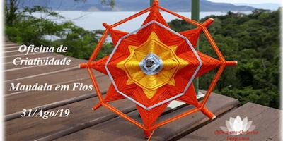 Oficina de Criatividade: Mandala em Fios