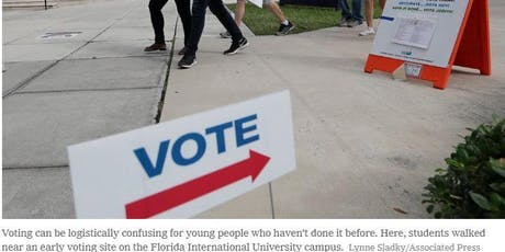 Youth Voter Registration Game Night  tickets
