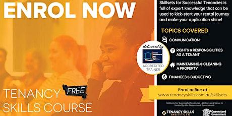 Mackay Tenancy Skills Course tickets