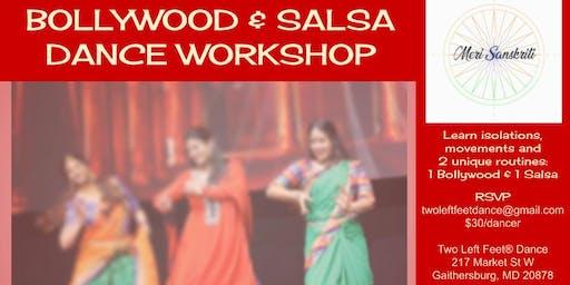 Bollywood & Salsa Dance Workshop