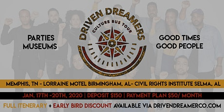 Driven Dreamers Culture Bus Tour tickets