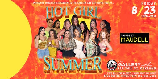 HOT GIRL SUMMER w/ DJ MAUDELL FREE Til 11PM w/ RSVP | VIRGO FREE ALL NIGHT