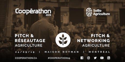 Pitch & Réseautage/Pitch & networking - MTL - Agriculture