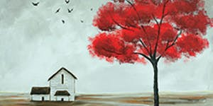 Red Tree & Barn Paint Night