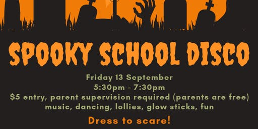 Spooky School Disco