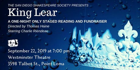 KING LEAR: Staged Reading and Fundraiser tickets