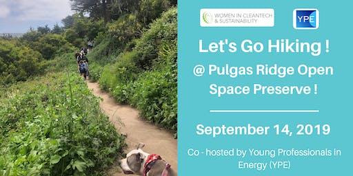 Women in Cleantech: Let's go Hiking @ Pulgas Ridge Open Space Preserve!
