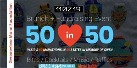 Gwen Mann Foundation 50in50 Finale Brunch & Fundraiser tickets