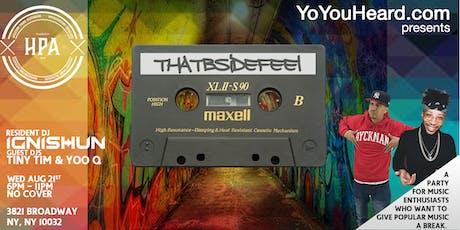 ThatBsideFeel tickets