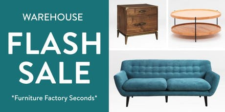 Massive DTLA Furniture Sale - prices starting at 60% off tickets