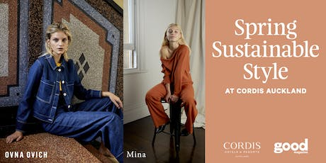 Spring Sustainable Style at Cordis tickets