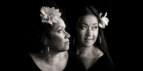 Vika and Linda Bull at Peninsula Hot Springs tickets